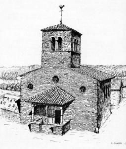L'ancienne église de Vernaison